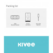 Kivee KV-TW03 (can charge mobile phone) Bluetooth wireless earphones