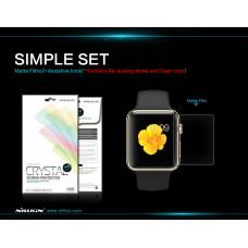 NILLKIN Super Clear Anti-fingerprint screen protector film for Apple Watch 42mm Series 1,2,3