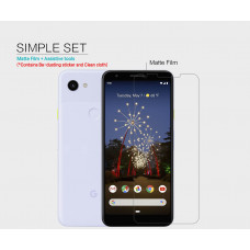 NILLKIN Matte Scratch-resistant screen protector film for Google Pixel 3a