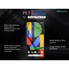 NILLKIN Matte Scratch-resistant screen protector film for Google Pixel 4 XL