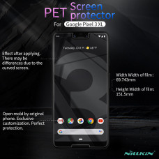 NILLKIN Matte Scratch-resistant screen protector film for Google Pixel 3 XL