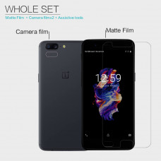 NILLKIN Matte Scratch-resistant screen protector film for Oneplus 5 (A5000 A5003 A5005)