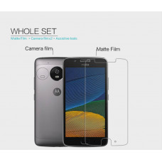NILLKIN Matte Scratch-resistant screen protector film for Motorola Moto G5
