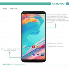 NILLKIN Super Clear Anti-fingerprint screen protector film for Oneplus 5T