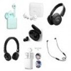 Wireless earphones and headsets