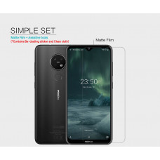 NILLKIN Matte Scratch-resistant screen protector film for Nokia 7.2, Nokia 6.2