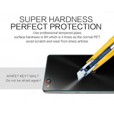 NILLKIN Amazing H back cover tempered glass screen protector for ZTE Nubia Z9 Max