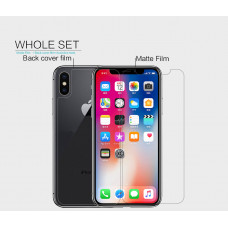 """NILLKIN Matte Scratch-resistant screen protector film for Apple iPhone XS Max (iPhone 6.5), Apple iPhone 11 Pro Max (6.5"""")"""