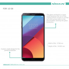 NILLKIN Super Clear Anti-fingerprint screen protector film for LG G6