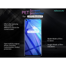 NILLKIN Matte Scratch-resistant screen protector film for Realme 6
