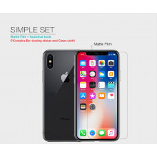 """NILLKIN Matte Scratch-resistant screen protector film for Apple iPhone X, Apple iPhone XS, Apple iPhone 11 Pro (5.8"""")"""