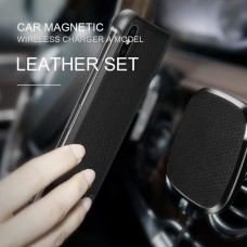 NILLKIN NILLKIN Car Magnetic QI Wireless Charger (model A) Leather Set Car wireless charger