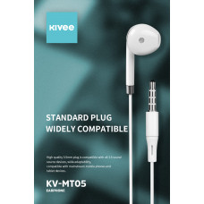 Kivee KV-MT05 (Hard box) Earphones