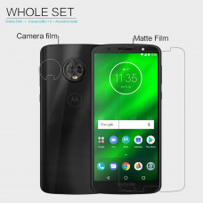 NILLKIN Matte Scratch-resistant screen protector film for Motorola Moto G6 Plus