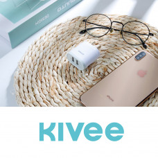 Kivee KV-AT12 CN plug Dual USB 5V/2.1A Power adapter