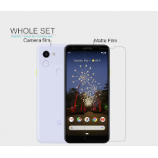 NILLKIN Matte Scratch-resistant screen protector film for Google Pixel 3a XL